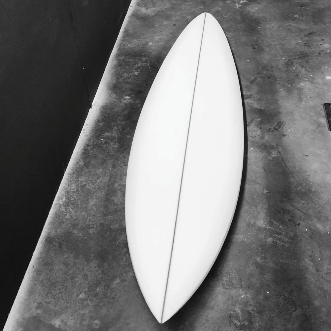 Mackie Surfboards Classic Single Fin Pin